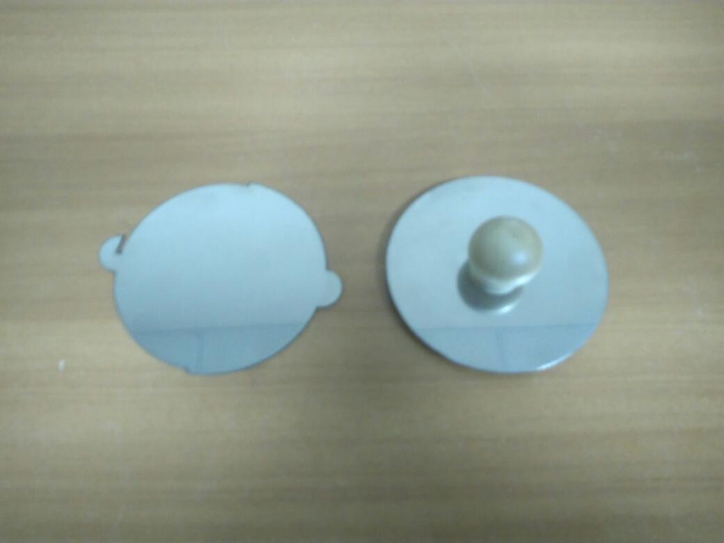 Крышка и дно дымогенератора для холодного копчения